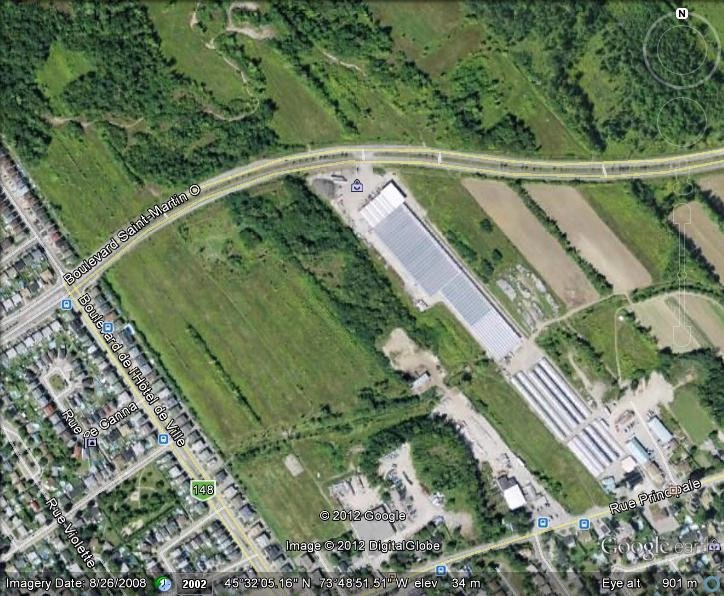 Land for sale in Laval