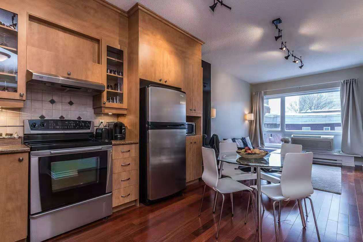 Prestigious condo for rent- 1 bedroom furnished steps away from station Berri UQAM